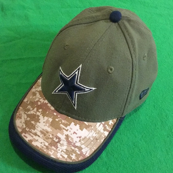 cheap for discount 3d63a 37a43 Cowboys, New Era, Youth, Salute to Service hat